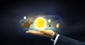 Sun system stock photography