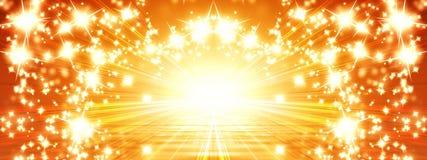 Sun sztandar Obraz Royalty Free