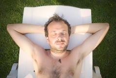 Sun tan Royalty Free Stock Images
