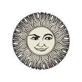 Sun tattoo Royalty Free Stock Photos