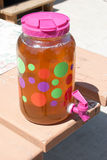 Sun Tea Royalty Free Stock Photography