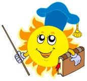 Sun teacher Stock Photo