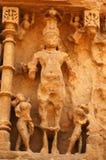 Sun-Tempel, Modhera Lizenzfreies Stockfoto