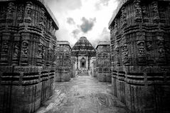 Sun Temple Royalty Free Stock Images