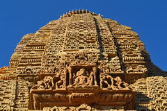Sun Temple. The amazing, ancient Stone Carved Sun Temple (Surya Mandir) near Kotay village near Bhuj in India Royalty Free Stock Image