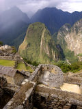 Sun Temple. The Sun Temple at Machu Picchu. The lost city of the Inca's Royalty Free Stock Photos