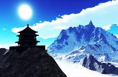 Sun temple - Buddhist shrine Stock Photos