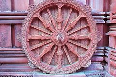 Chariot wheel. Sun temple chariot wheel photo background Stock Image