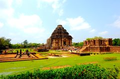 Sun Temple close to Puri, India Stock Images