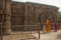 Sun Temple, Konarak, India Stock Image