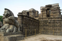 Sun temple at Konark Stock Images