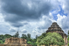 The Sun Temple at Konark Stock Image