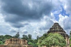 The Sun Temple at Konark. HDR - The ancient sun temple at Konark, India Stock Image