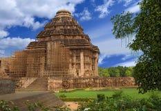 Sun Temple. Konark, Orissa, India. Sun Temple. General view for the temple of the Surya. Konark, Orissa, India Stock Photography