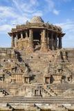 Sun Temple at Modhera stock photos