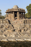 Sun Temple at Modhera Stock Photography