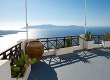 Sun terrace Stock Photo