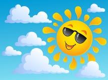 Sun theme image 6 Royalty Free Stock Image