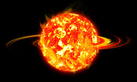 The sun. Sun to light and to life Stock Photo