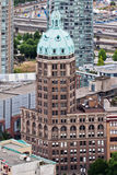 Sun Tower Vancouver Canada Stock Photography
