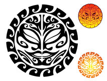 Sun tribale Fotografia Stock