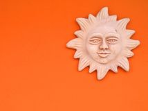 sun tuscan under Arkivfoton