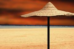 Sun umbrella Royalty Free Stock Photography