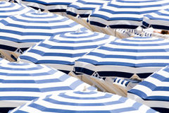 Sun umbrellas Royalty Free Stock Images