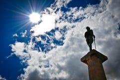 Sun und Himmel Lizenzfreies Stockbild