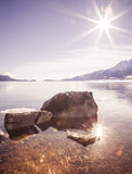 Sun und Meer Stockfotografie