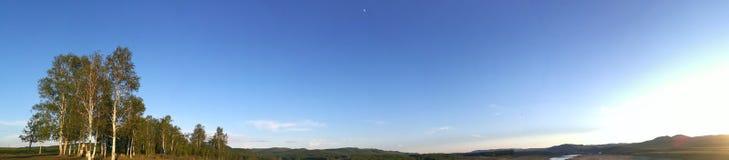 Sun und Mond Lizenzfreie Stockfotografie