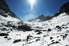 Sun und Schnee Lizenzfreie Stockbilder
