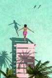 Sun und Strand Lizenzfreie Stockfotos