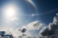 Sun und Wolken Stockfotografie