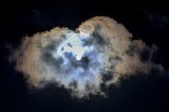Sun und Wolken Stockbilder