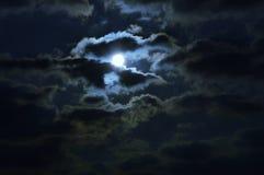Sun und Wolken/Abstraktion der Natur Lizenzfreie Stockfotografie