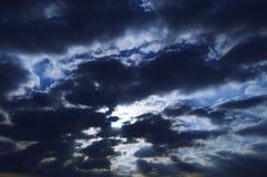 Sun und Wolken/Abstraktion der Natur Lizenzfreie Stockbilder