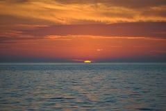 Sun va abajo Imagen de archivo libre de regalías