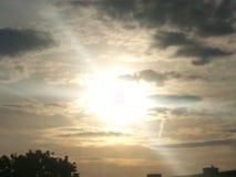 Sun va abajo Imagen de archivo