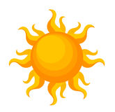 Sun vector Stock Photo
