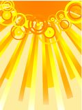 Sun. [Vector] Royalty Free Stock Photography