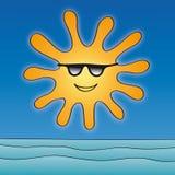 Sun (vector) Imágenes de archivo libres de regalías