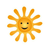 Sun (vector) Stock Photography