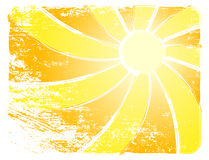 Free Sun Vector Background Royalty Free Stock Photo - 19395605