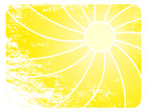 Sun vector Background. Sunburst grungy And Abstract vector Backgrounds Stock Photo