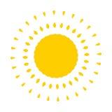 Sun vector Stock Image