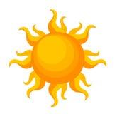 Sun-Vektor Stockfoto