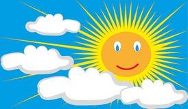 Sun-Vektor Stockbilder
