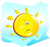 Sun (verärgert) Lizenzfreie Abbildung