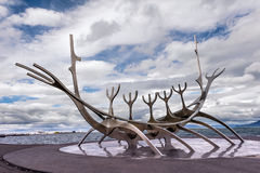 Sun voyager. Iceland Stock Photography